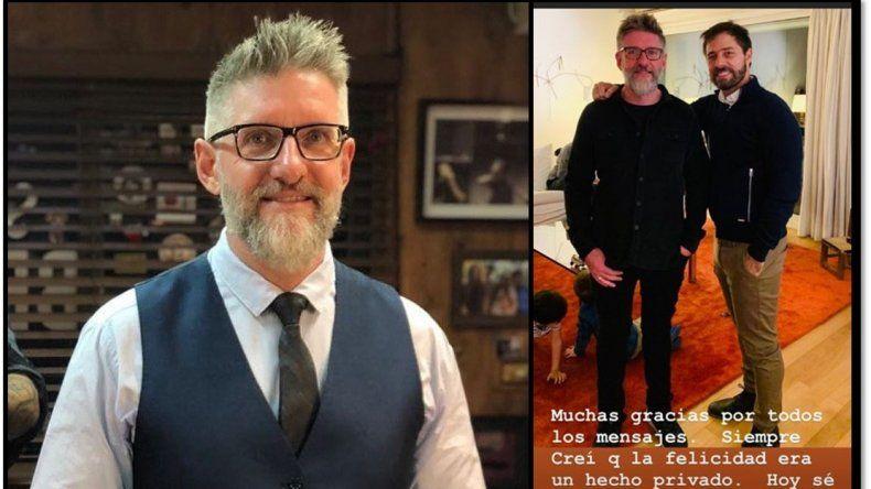 Felicidad Plena: Luis Novaresio se mostró junto a su novio y agradeció los mensajes recibidos