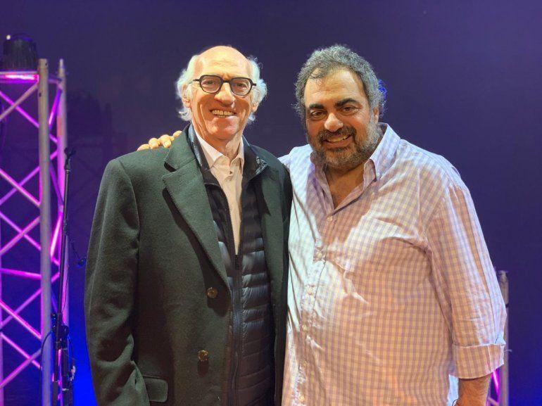Carlos Bianchi disfrutó de la función de El Candidato, el espectáculo de Roberto Moldavsky