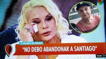 Carmen Barbieri suplicó por Santiago Bal: Le pido a Actores que lo dejen internado: me llegó una orden de traslado; si lo movemos