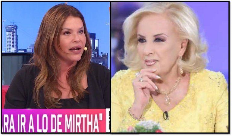 Nazarena Vélez reveló que una vez cobró por ir al programa de Mirtha Legrand: Los motivos
