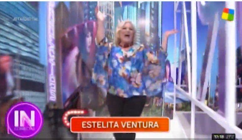 ¡Sorpresa! Estelita Ventura volvió a la televisión en el programa de Moria Casán:  la interna del regreso