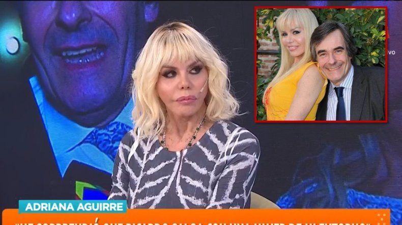 Adriana Aguirre contó que tenía pareja abierta con Ricardo: Me defraudó, se fue con una persona de nuestra confianza