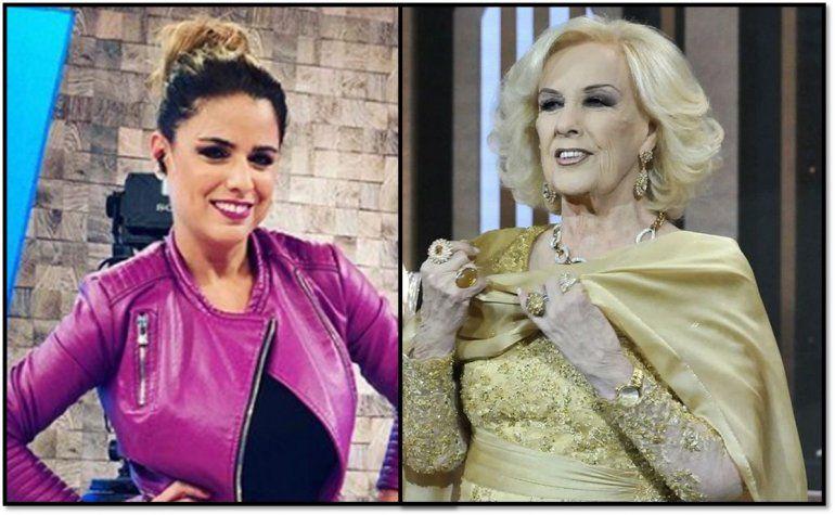 Marina Calabró vs Mirtha Legrand:  Cuando se habla del laburo hay que redoblar los cuidados