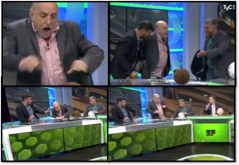 Estrepitosa caída de Horacio Pagani en Estudio Fútbol: ¿Qué le pasó?