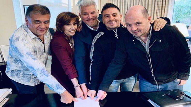 Fede Bal, Cárpena y Arnaldo André pusieron su dedo con Rottemberg para Mar del Plata