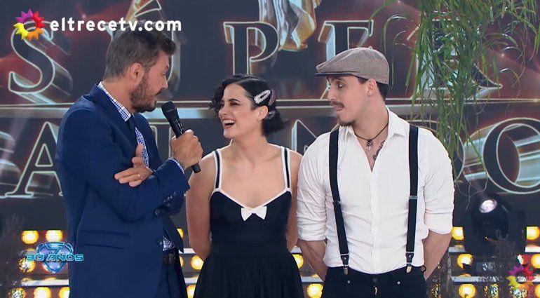 La promesa de Tinelli si hay un beso entre Flor Torrente y Nacho Saraceni