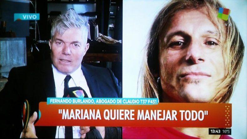 El abogado de Claudio Caniggia se refirió a la supuesta nieta del ex jugador y Mariana Nannis