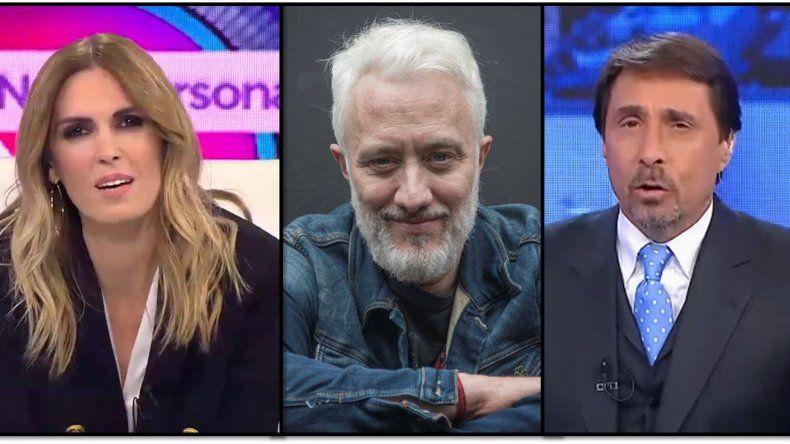 Andy Kusnetzoff criticó a Canosa por ser elegida como moderadora para el debate presidencial y Feinmann lo defenestró: Sos de cuarta