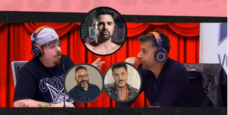 Migue Granados y Martín Bossi gastaron a Luciano Castro por sus fotos y contaron cómo son los miembros de otros famosos