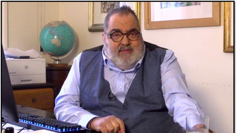 Debido a los problemas de salud, Jorge Lanata anunció que este año no volverá a su programa de televisión