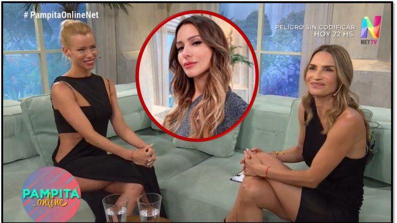 ¿Fue engañada?: Nicole no sabía que la habían invitado al programa de Pampita y quiso irse