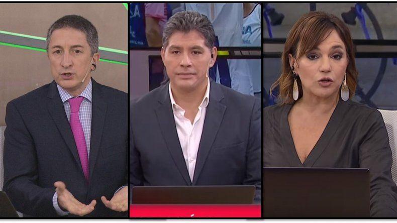 Tenso cruce al aire en TN entre Adrián Ventura, Lorena Maciel y Guillermo Lobo