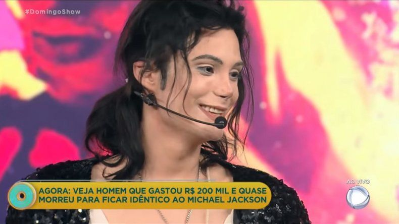 Luego de sus escándalos Felipe Pettinato imitó a Michael Jackson en Brasil y causó furor