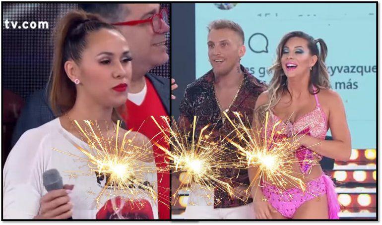 Barby Silenzi y Noelia Marzol discutieron fuerte en el Super Bailando por El Polaco: No me gustan las malas personas