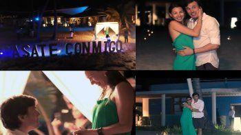 pampita filmo un video para anunciar su boda: de paso pago el canje del hotel