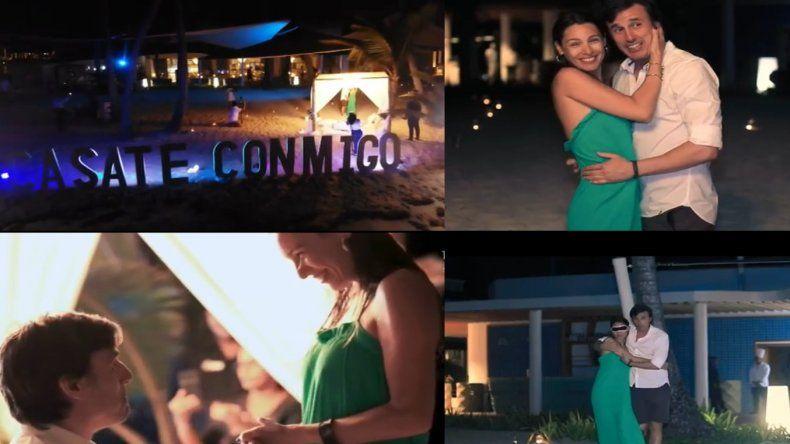 Pampita filmó un video para anunciar su boda: de paso pagó el canje del hotel