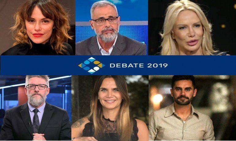 Los famosos y el debate presidencial: las opiniones en las redes