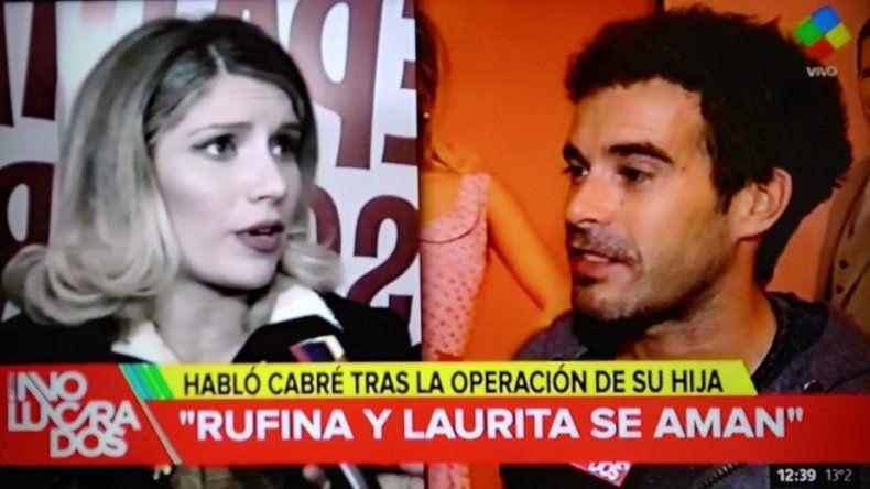 Nicolás Cabré, íntimo: habló de la salud de su hija Rufina y de su noviazgo con Laurita: Estoy enamorado y feliz