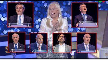 telefe no cambio y gano: susana gimenez supero al debate presidencial