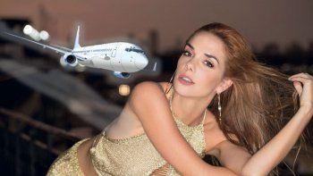 La estrella Julieta Nair Calvo se quejó y denunció a una aerolínea por la pesadilla que vivió en un vuelo