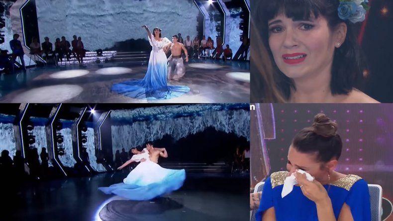 Impactante baile de Griselda Siciliani conmovió a todos y Pampita se quebró en llanto