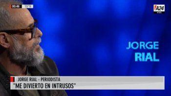 Jorge Rial habló de Tinelli
