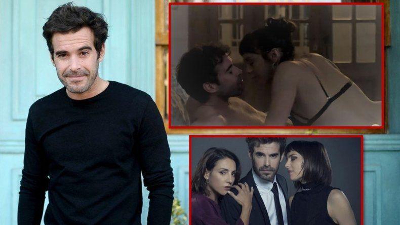 Nicolás Cabré exigió un doble para hacer una fuerte escena de sexo