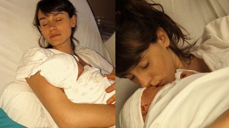 Una actriz de ATAV, hija de un famoso cantante, fue mamá: nació Helena