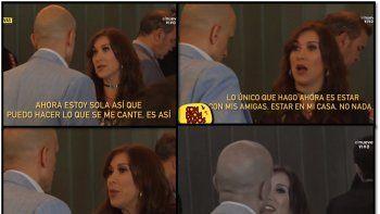 El escandaloso video de la pelea en público entre Valeria Archimó y su ex