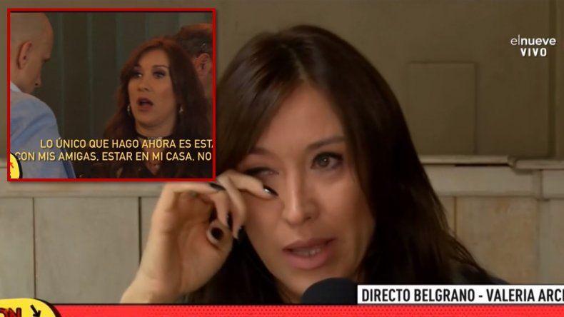 Valeria Archimó rompió en llanto en medio de un móvil explicando la pelea pública con su ex: No lo pudimos manejar; yo no estoy bien