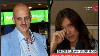 La guerra de los Roses en vivo por televisión: Valeria Archimó y su ex siguieron la pelea al aire con enorme tensión