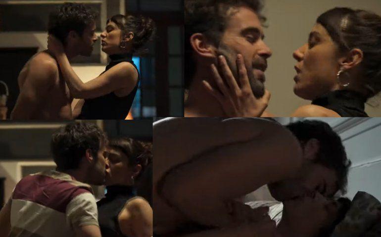 Nicolás Cabré mostró la cola en su nueva serie Tu parte del trato: ¿era la suya o la de un doble?