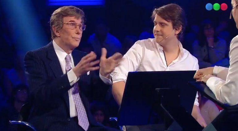 Silvio Soldán estuvo con su hijo Christian por primera vez en televisión y ganaron medio millón de pesos
