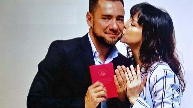Mercedes Funes, la villana de Atav, se casó con el periodista Cecilio Flematti