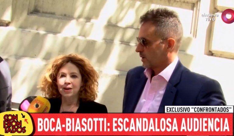 Escándalo en la audiencia de Andrea del Boca y Biasotti: el ex de la actriz pidió que su hija Anna no le haga juicio por abuso sexual