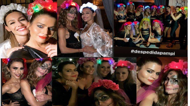 Se casa Pampita: la gran despedida de soltera con 40 amigas