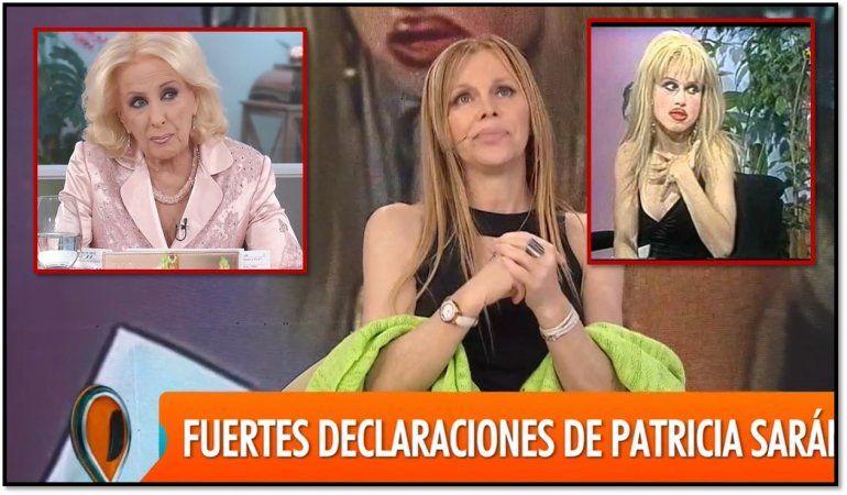 Patricia Sarán apuntó contra Mirtha por la imitación de Juana Molina: Ella no es ingenua, yo sé mucho sobre su vida