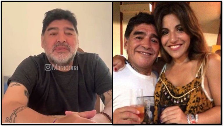 Tremenda respuesta de Maradona a Gianinna: No me estoy muriendo