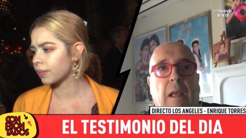 Habló el cuñado de Andrea del Boca : Yo vi a Anna Chiara agarrada de las paredes para no ir con su padre