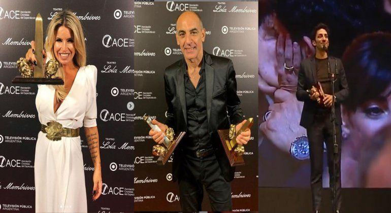 Se entregaron los premios ACE al teatro: Cabaret arrasó con los galardones, La Verdad se llevó el de los protagonistas, y el Oro fue para Dayub