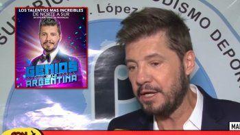 marcelo tinelli explico por que no pudo seguir haciendo el formato genios de la argentina