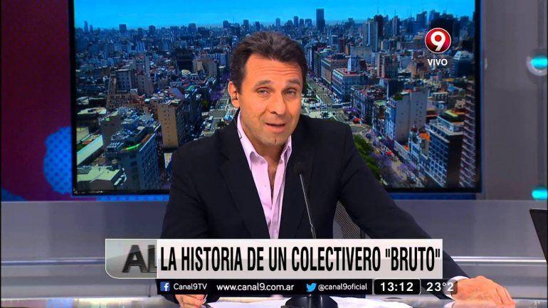 Jorge Pizarro, periodista de El Nueve, acusado de violento por sus compañeros fue suspendido por las autoridades del canal