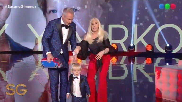 Mirko visitó a Susana, Marley habló de la cuenta bancaria de su hijo y la diva tuvo un divertido blooper