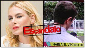 nueva pelea entre esmeralda mitre y su ex vecino: acusaciones cruzadas y escandalo: es nefasta