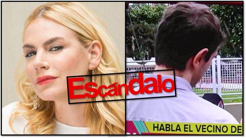 Nueva pelea entre Esmeralda Mitre y su ex vecino: acusaciones cruzadas y escándalo: Es nefasta