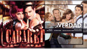 Cabaret y La Verdad en el podio de las obras más vistas de Buenos Aires
