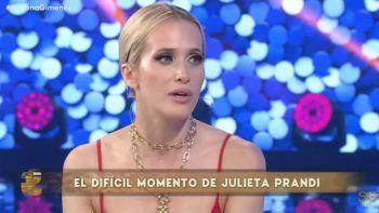 julieta prandi visito a susana gimenez y hablo de su ex marido: no creo que me haya amado; siento que fue planeado