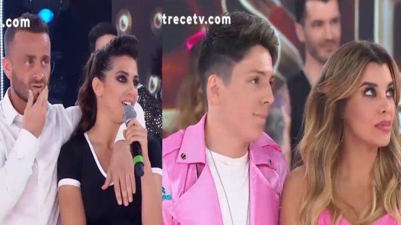 Charlotte Caniggia y Cinthia Fernández con Martín Baclini quedaron sentenciados