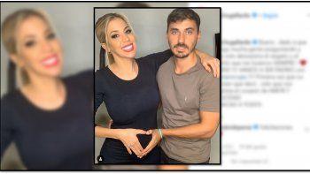 Virginia Gallardo anunció que está esperando su primer hijo
