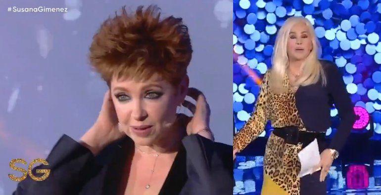 El nuevo y sorprendente look de Andrea del Boca que asombró a Susana: ¿Por qué confiaste en un peluquero?